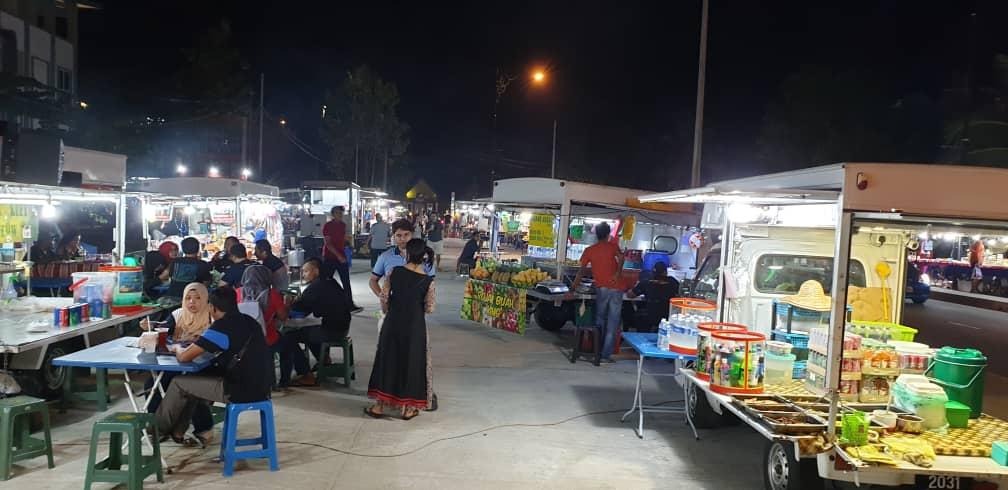 Food Truck area off Chenang, Langkawi