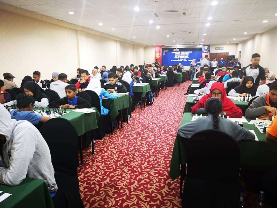 International Chess Open Langkawi 2019 Competition Hall